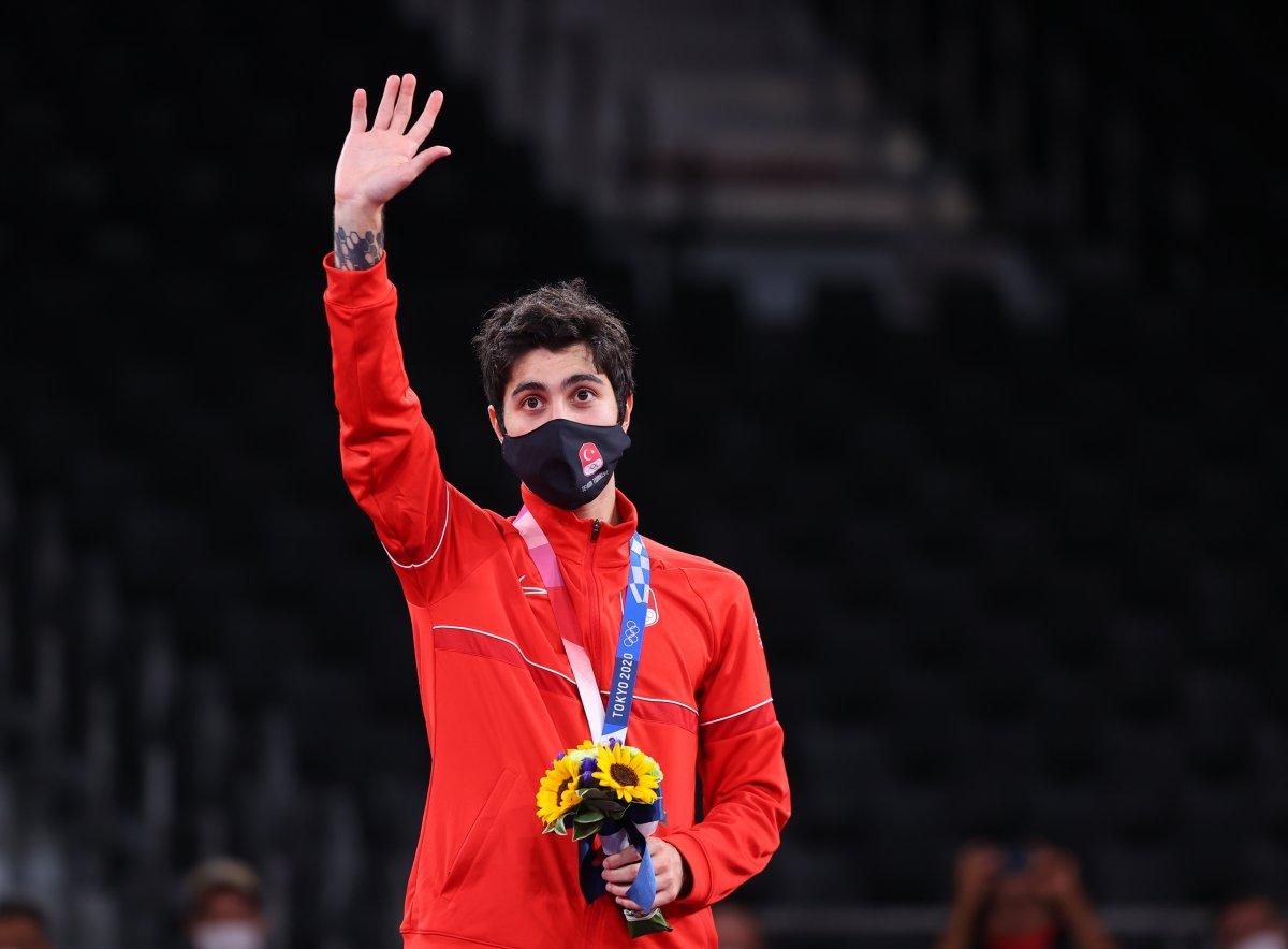 Tokyo 2020 den madalyayla dönen sporcularımız #5