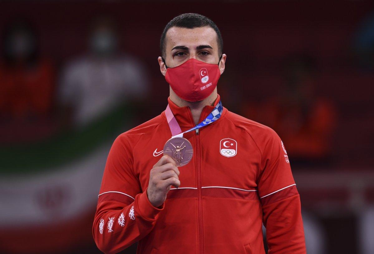 Tokyo 2020 den madalyayla dönen sporcularımız #13