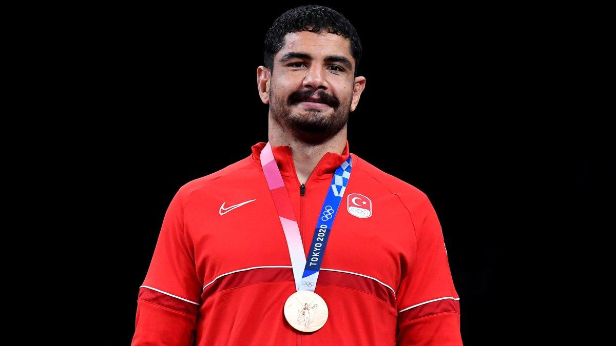 Tokyo 2020 den madalyayla dönen sporcularımız #9