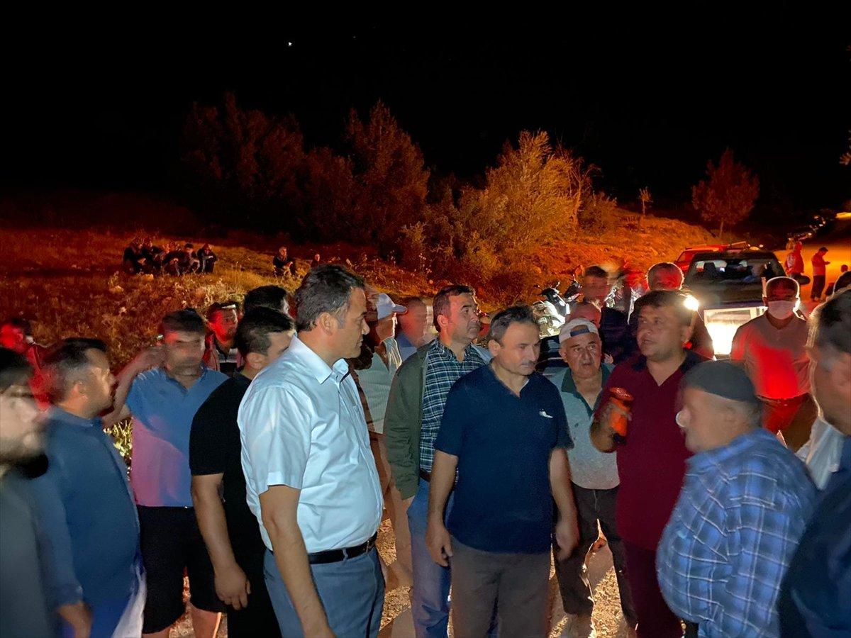 Antalya da beş ayrı noktada çıkan yangın söndürüldü #3