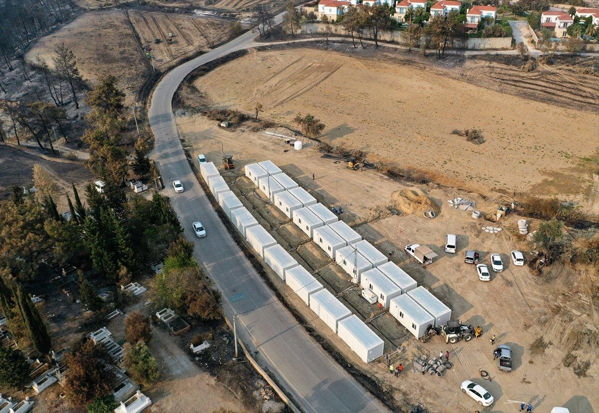 Yangın bölgelerine 72,5 milyon lira nakdi yardım gönderildi #3