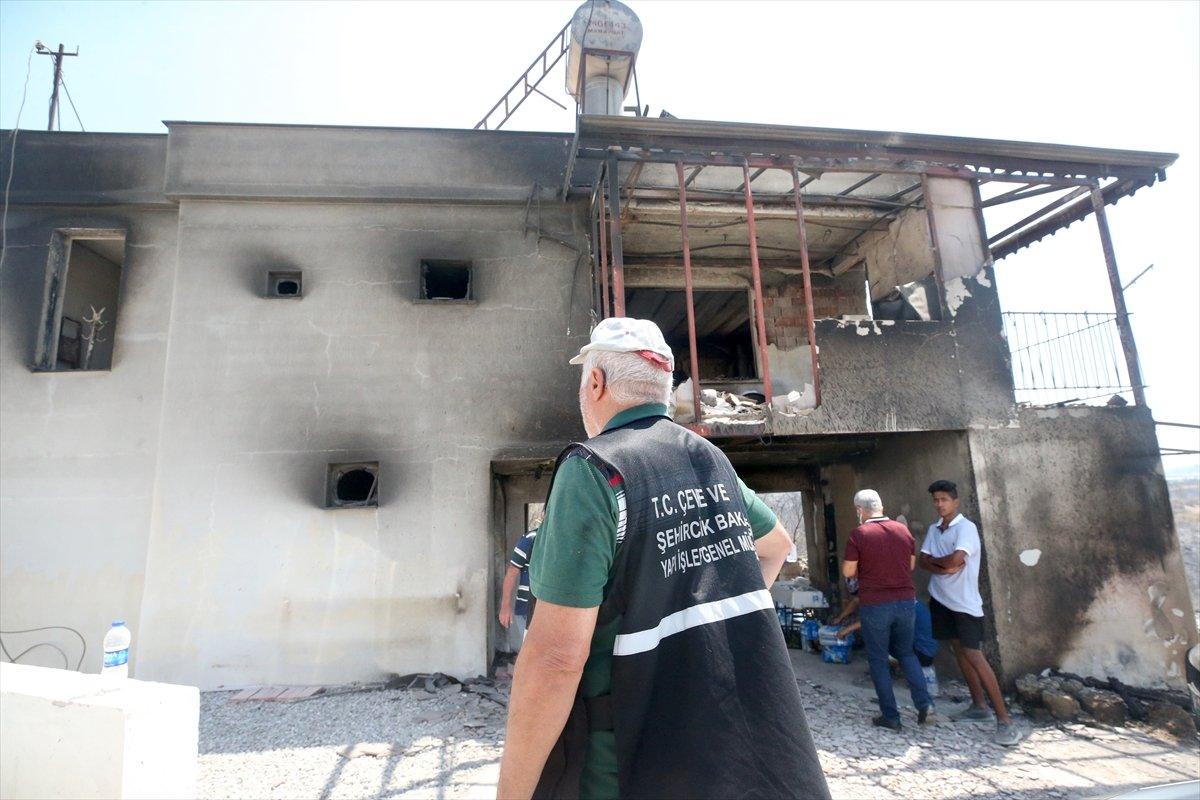 Yangın bölgelerine 72,5 milyon lira nakdi yardım gönderildi #4