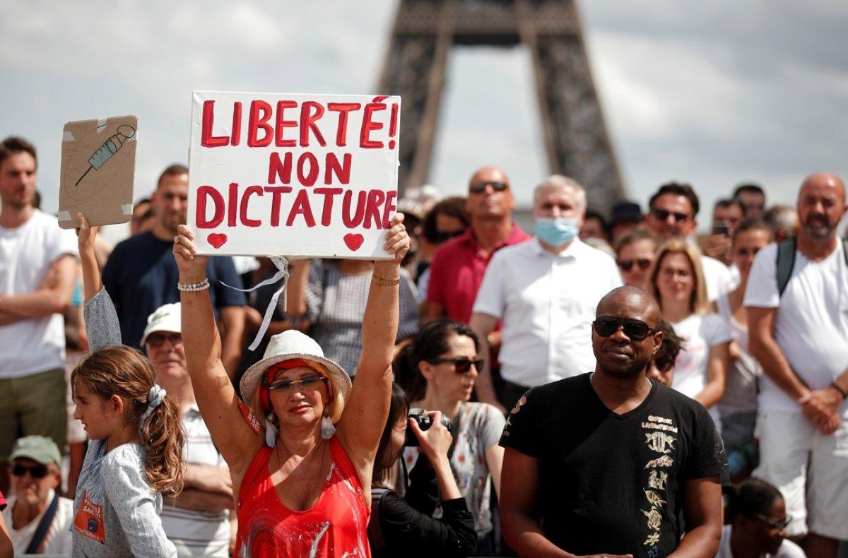 Fransa da aşı yaptıranların sayısı yükseliyor #2