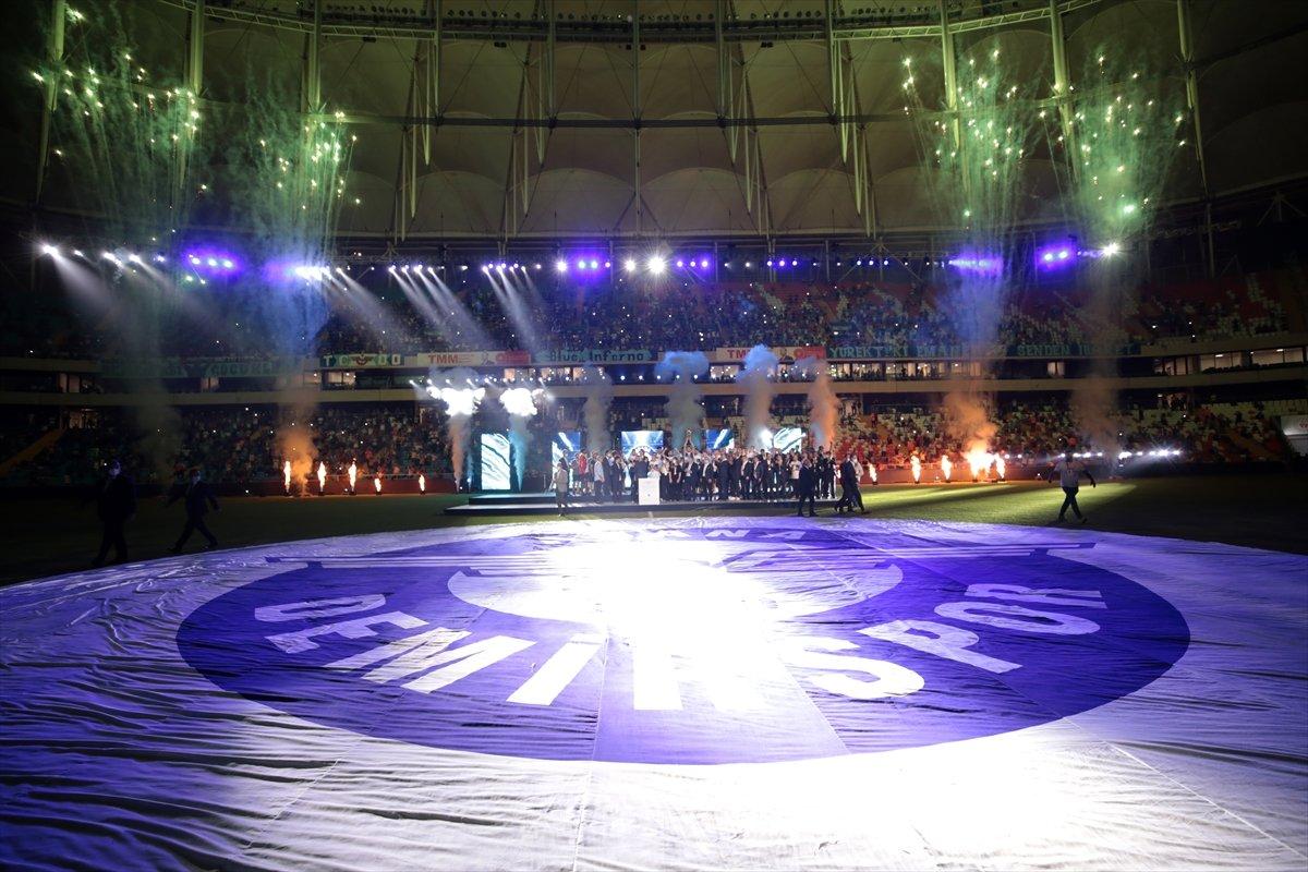 Adana Demirspor şampiyonluk kupasını kaldırdı #7