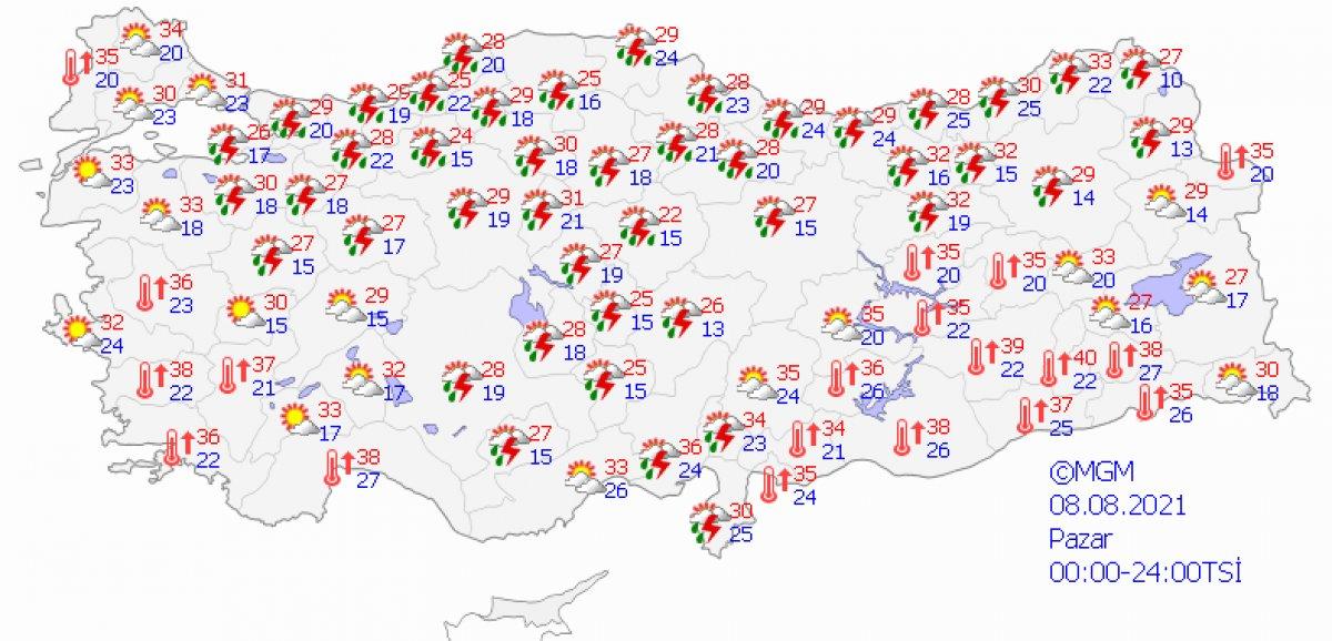 Adana ve Antalya da hafta sonu sağanak bekleniyor #4