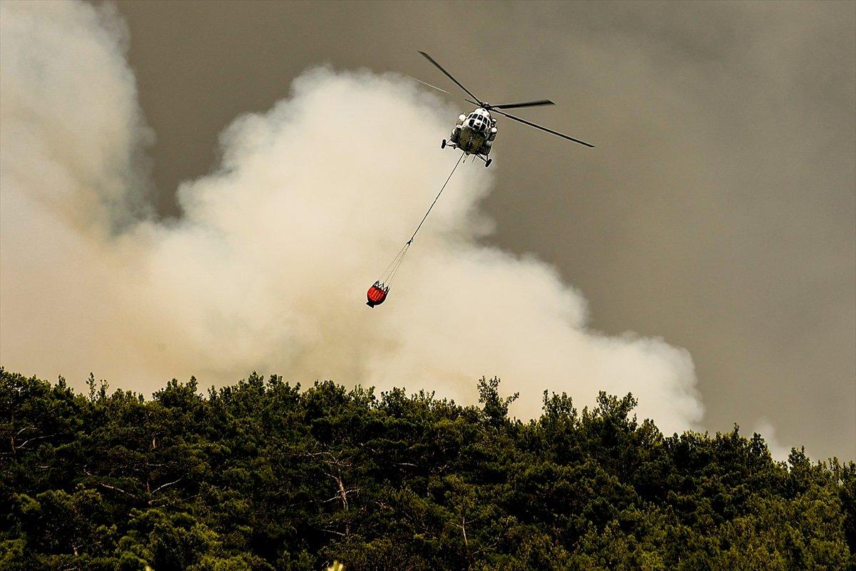 Yangın bölgelerine 72,5 milyon lira nakdi yardım gönderildi #2