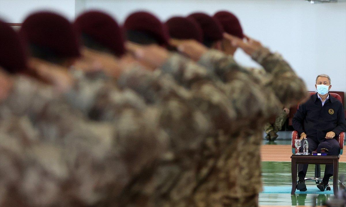 İhtisas kursunu tamamlayan bordo bereliler yemin etti #8
