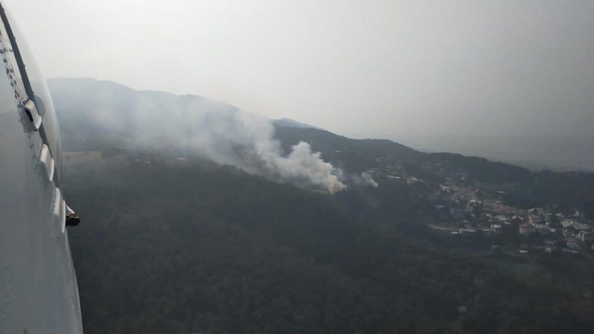 Hatay da orman yangını  #1