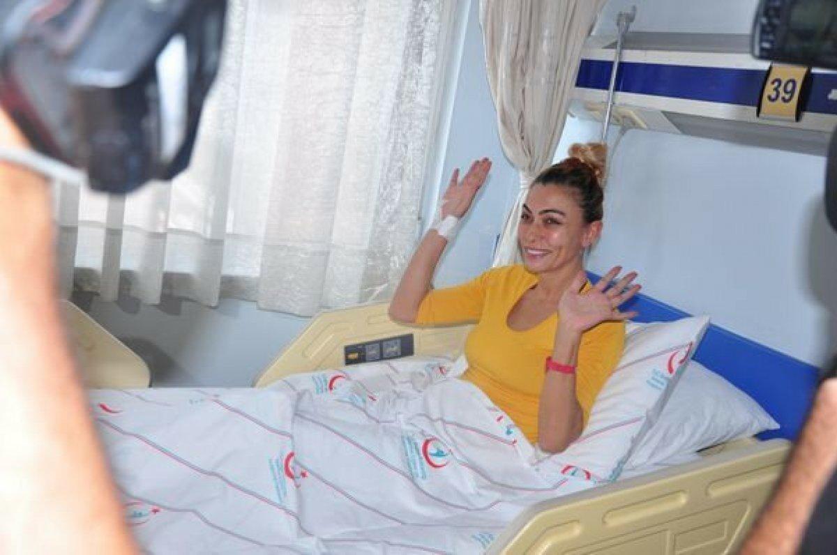 Oyuncu Leyla Bilginel, Manavgat ta yangınzedeleri azarladı #2