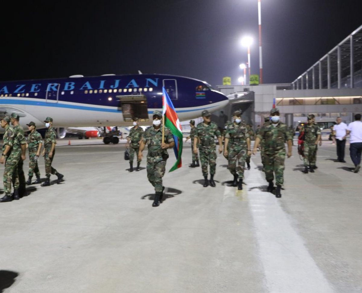 Azerbaycan dan 200 kişilik ekip Muğla ya geldi #3