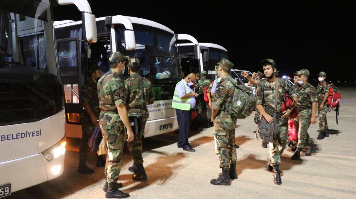 Azerbaycan dan 200 kişilik ekip Muğla ya geldi #4