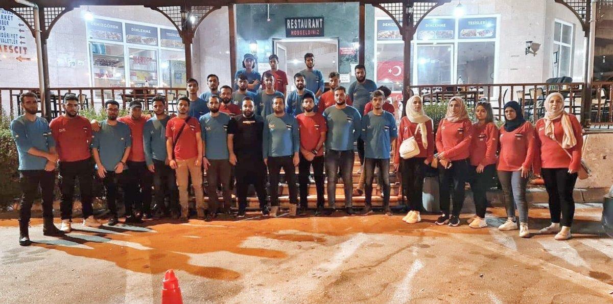 Suriyeliler, yangınlarla mücadele için Türkiye ye geldi #1
