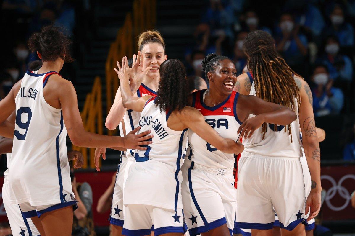 ABD Kadın Basketbol Takımı Olimpiyat Şampiyonu #5