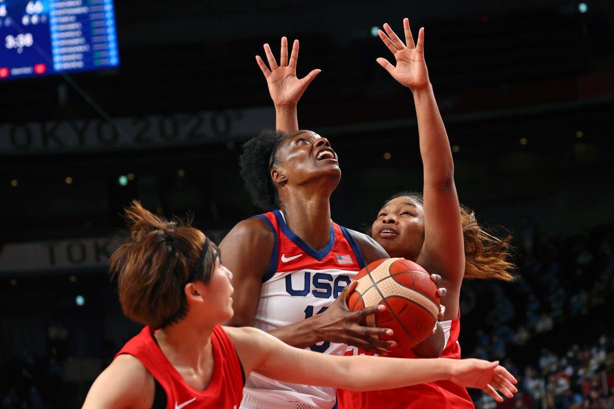 ABD Kadın Basketbol Takımı Olimpiyat Şampiyonu #4