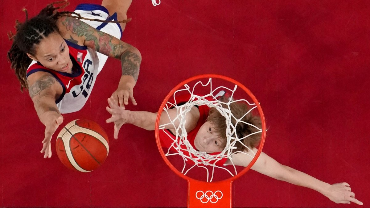 ABD Kadın Basketbol Takımı Olimpiyat Şampiyonu #2