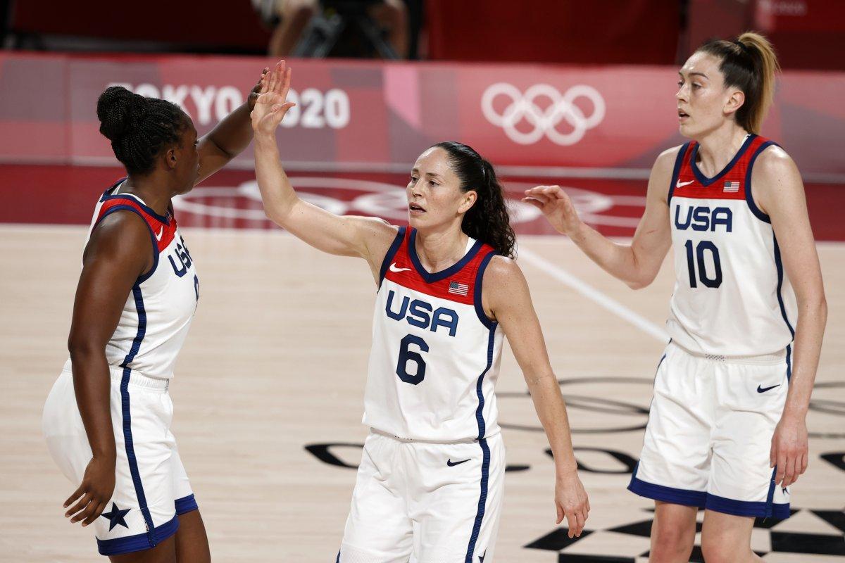 ABD Kadın Basketbol Takımı Olimpiyat Şampiyonu #1