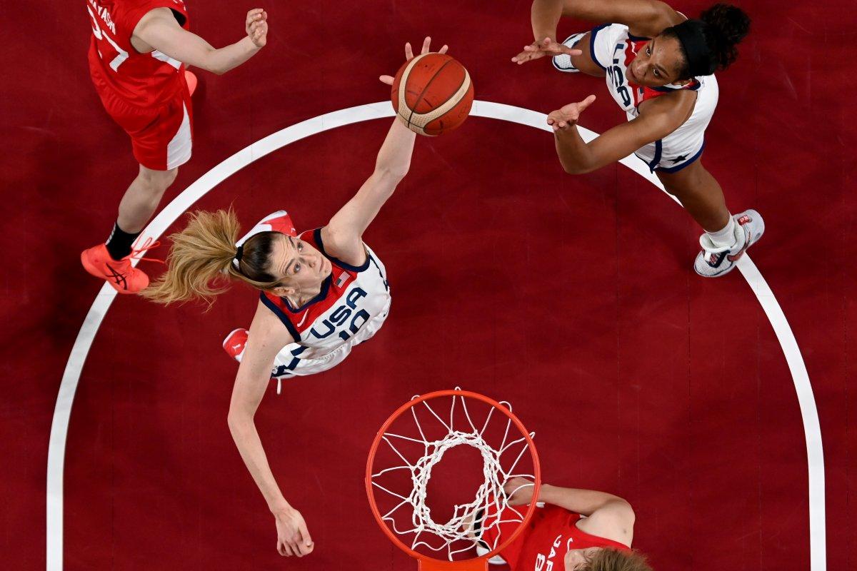 ABD Kadın Basketbol Takımı Olimpiyat Şampiyonu #3