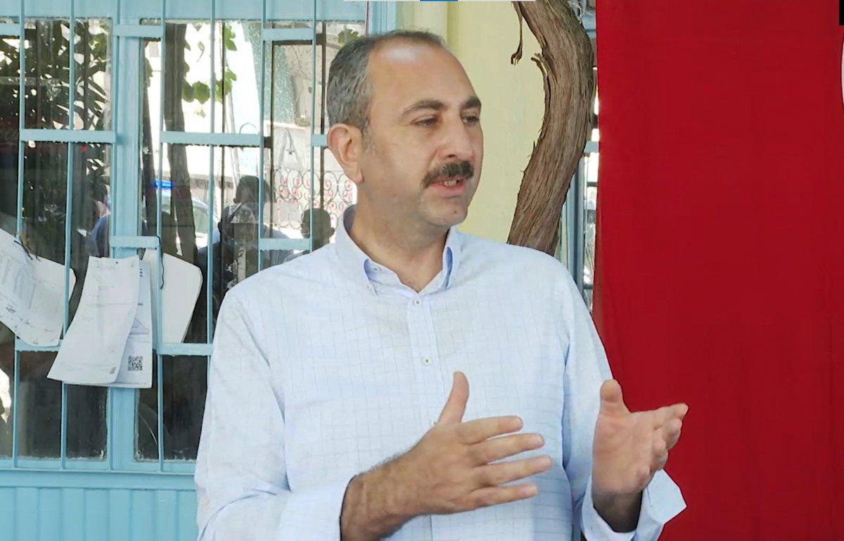 Abdulhamit Gül: Yanan alanlara tek bir çivi çakılmasına izin vermeyeceğiz #2