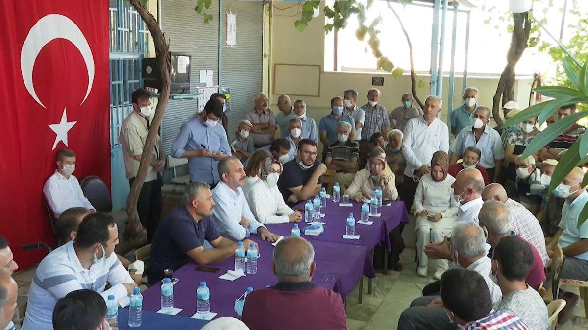 Abdulhamit Gül: Yanan alanlara tek bir çivi çakılmasına izin vermeyeceğiz #1