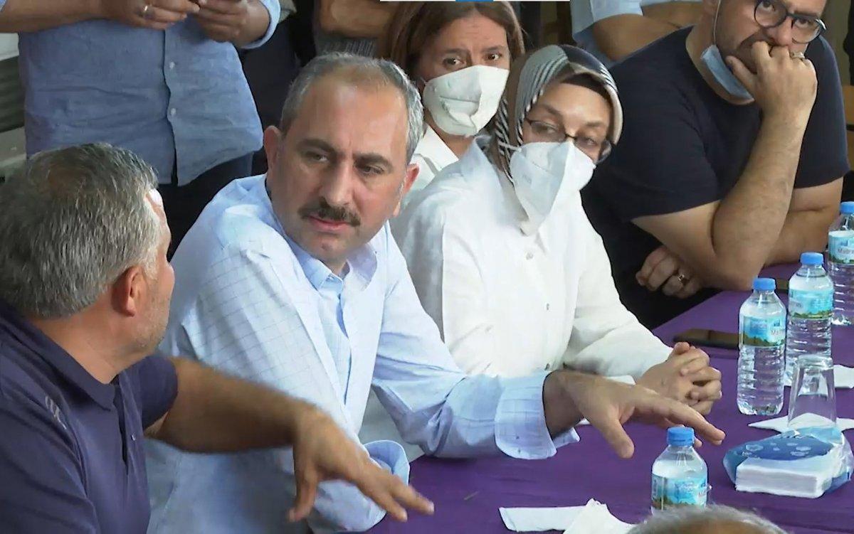 Abdulhamit Gül: Yanan alanlara tek bir çivi çakılmasına izin vermeyeceğiz #3