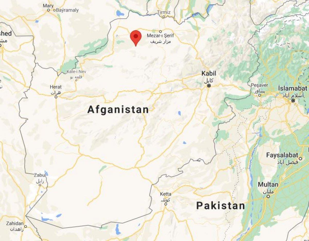 Taliban, Afganistan da Sar-i Pul şehrini ele geçirdi #2