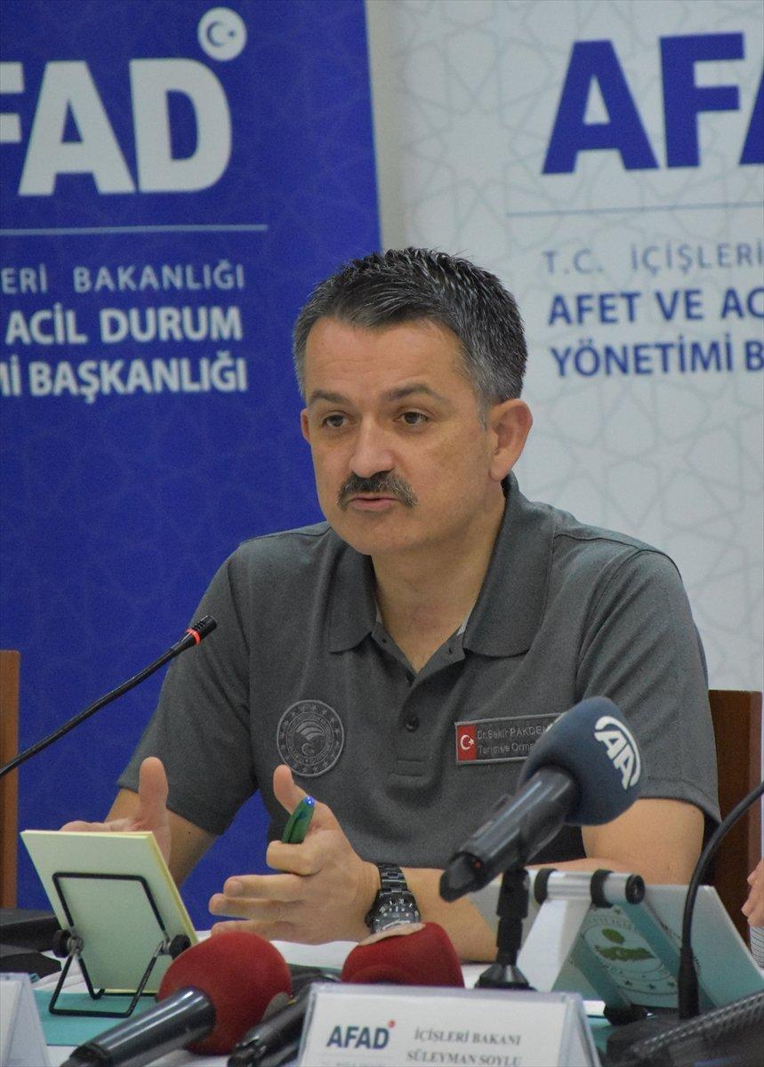 Bekir Pakdemirli: Yunanistan ın uçak talebi var, değerlendirmeye çalışıyoruz #3