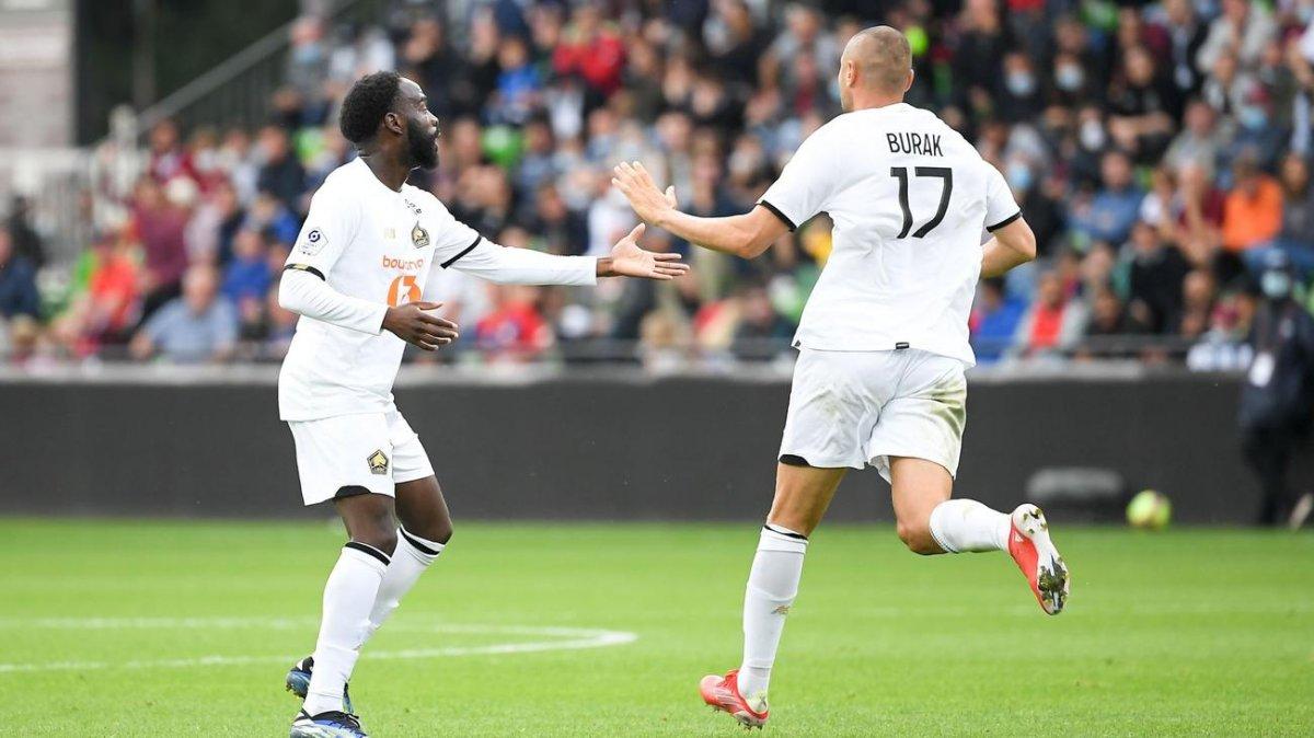 Burak Yılmaz son dakikada attı, Lille 1 puanı kaptı #2