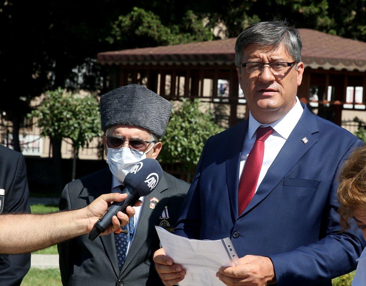 Şehit Pilot Yüzbaşı Cengiz Topel mezarı başında anıldı  #2
