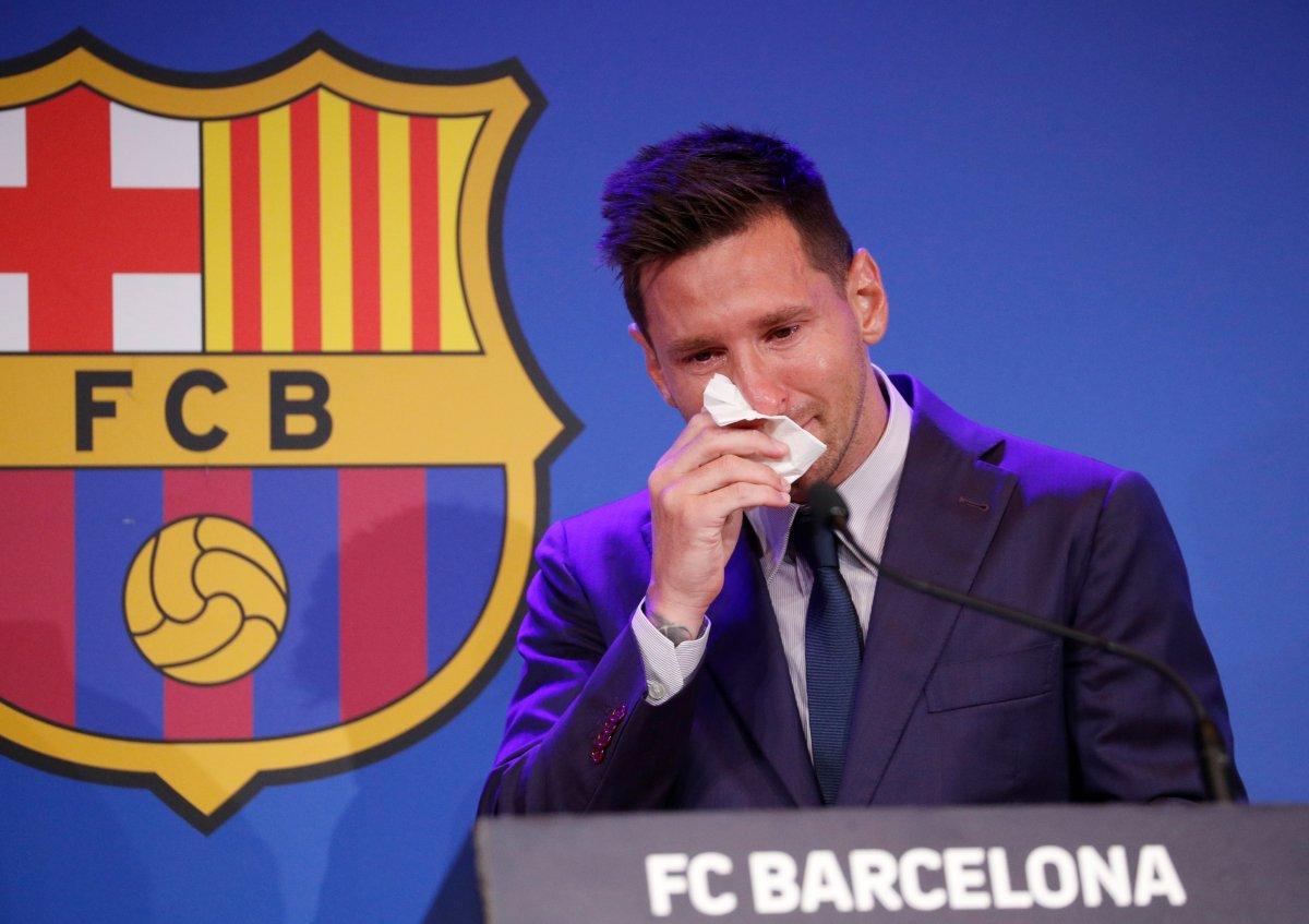 Lionel Messi den PSG açıklaması #1