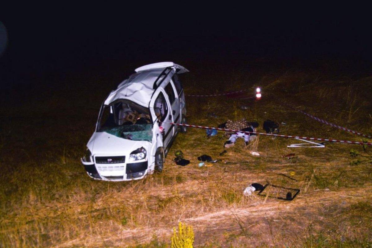 Sivas ta düğün dönüşü kaza: 1 ölü #2