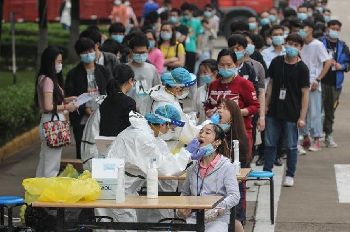 Wuhan'da nüfusun tamamına yakınına korona testi yapıldı #1