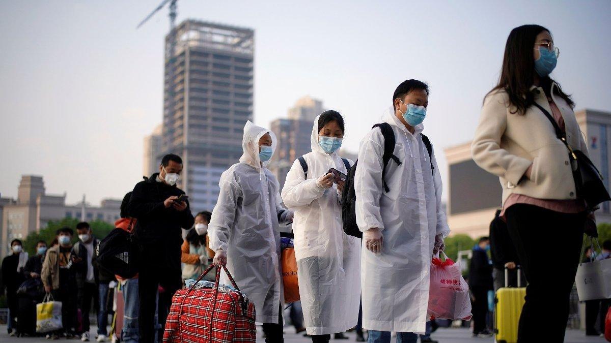 Wuhan'da nüfusun tamamına yakınına korona testi yapıldı #2
