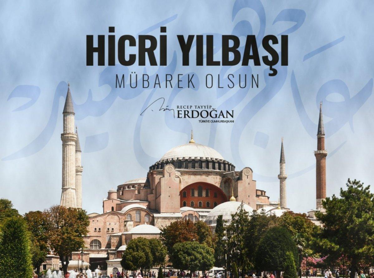Cumhurbaşkanı Erdoğan dan Hicri yeni yıl mesajı #1
