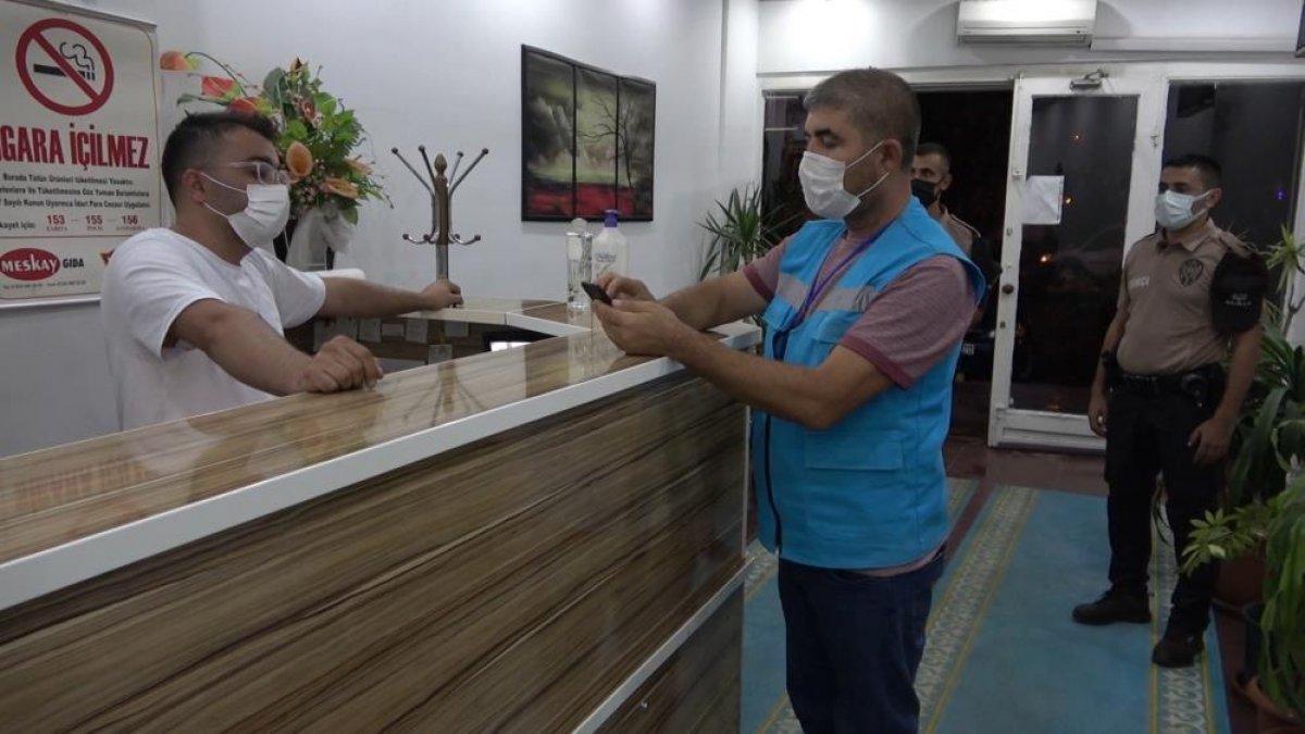 Kırıkkale de otele ve koronalı müşteriye ceza #1