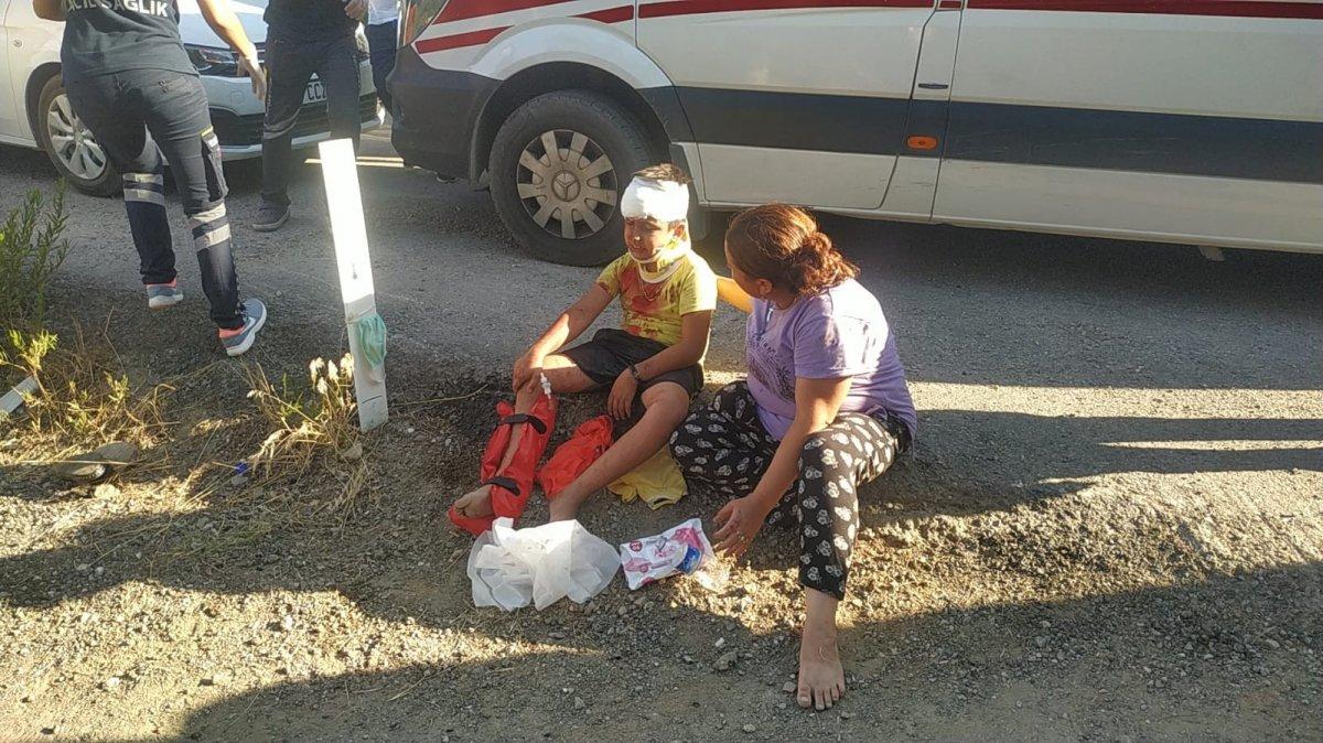 İzmir de türbe dönüşü kaza meydana geldi  #1