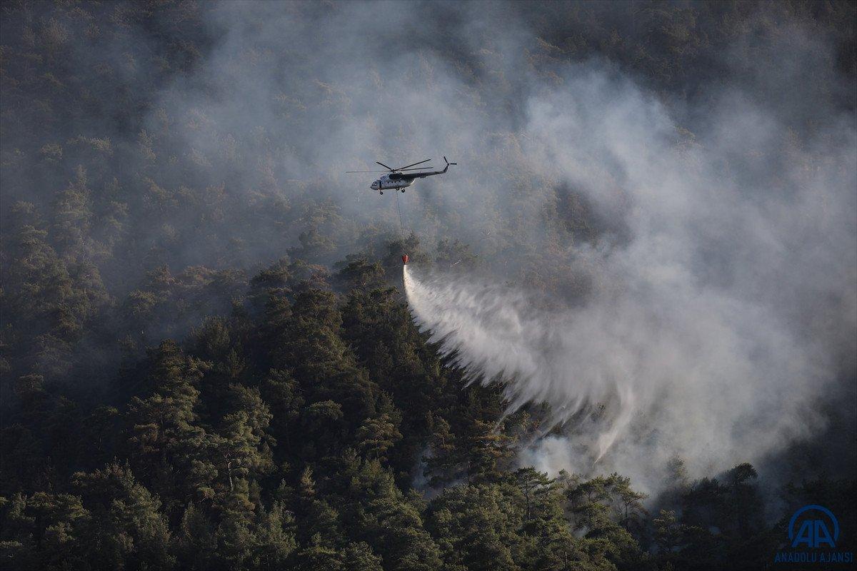 Orman yangınını söndürmek kadar hayati olan işlem: Soğutma #5