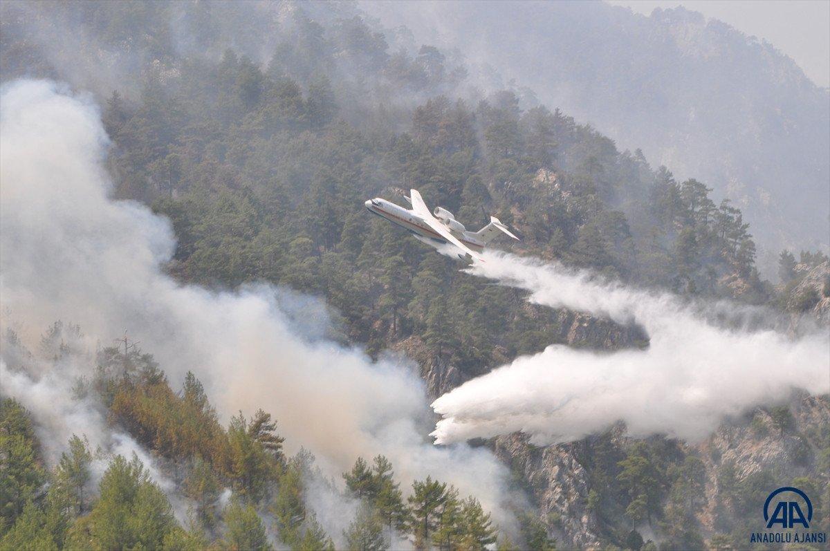 Orman yangınını söndürmek kadar hayati olan işlem: Soğutma #4