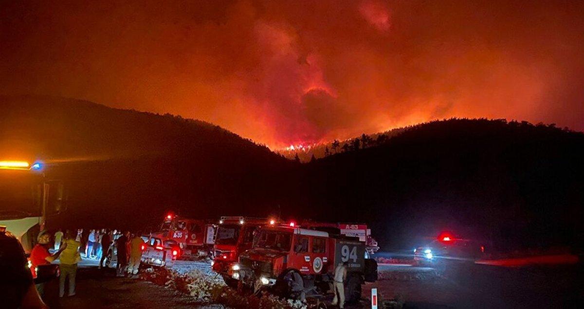 Orman yangınını söndürmek kadar hayati olan işlem: Soğutma #2