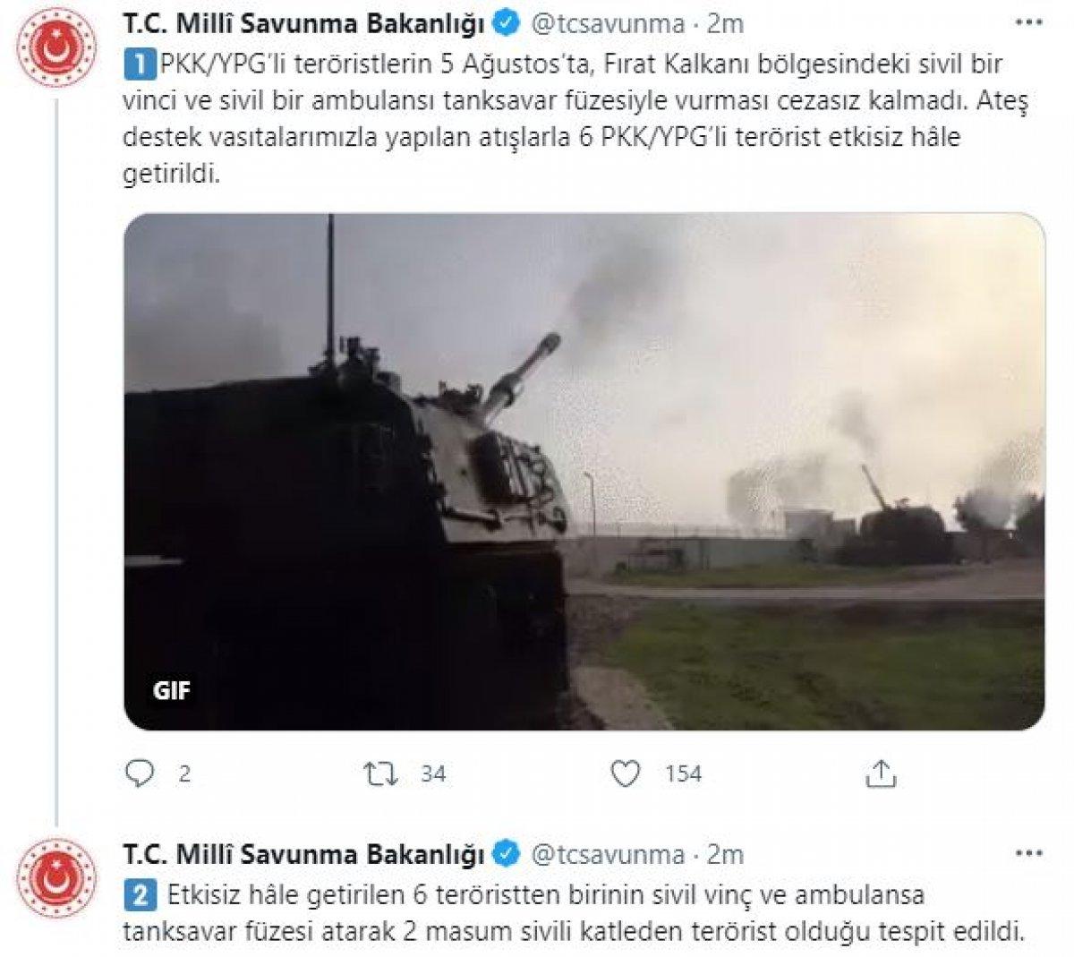 6 PKK/YPG'li terörist etkisiz hale getirildi #3