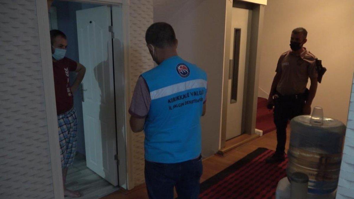 Kırıkkale de otele ve koronalı müşteriye ceza #6