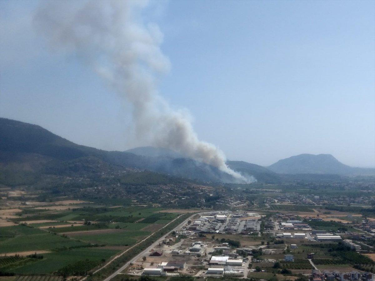 Dalaman da orman yangını çıktı #12
