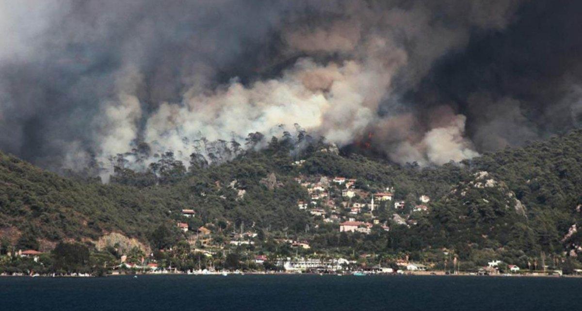 Fahrettin Altun, yangınlarla ilgili son durumu paylaştı #3