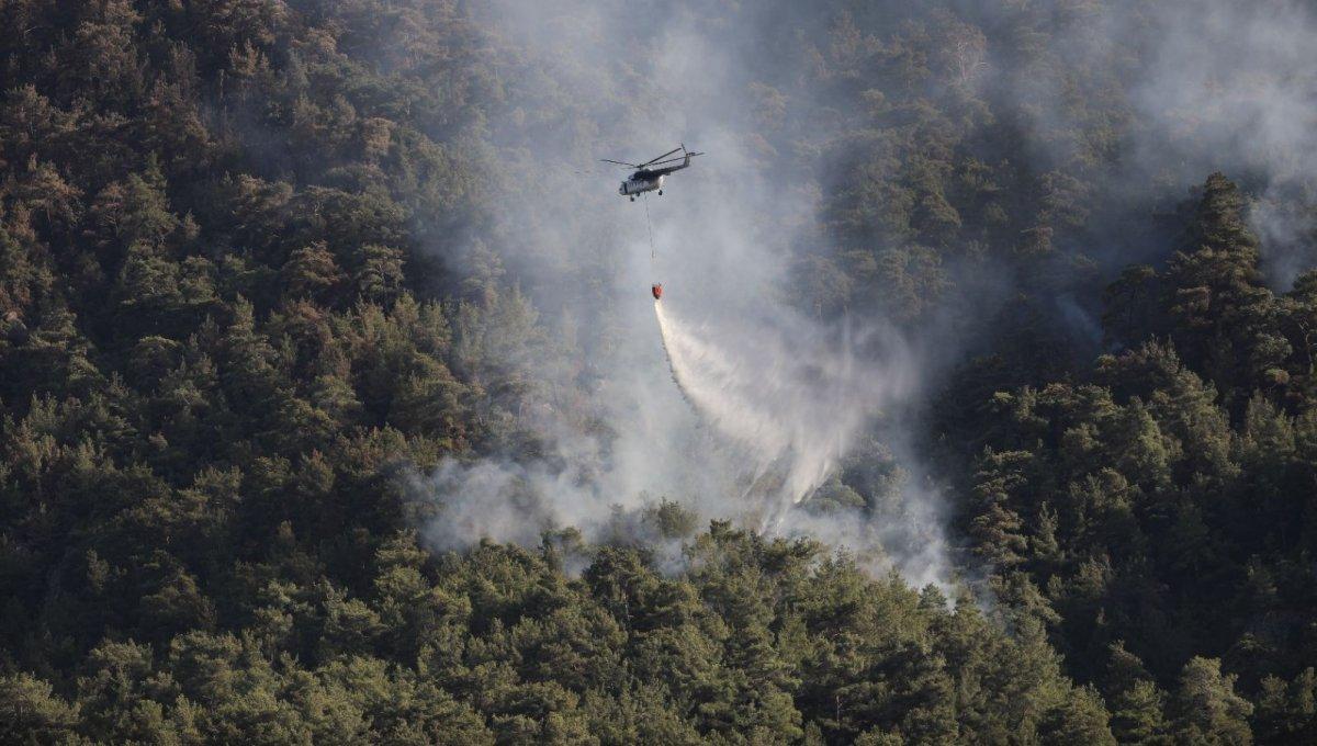 Fahrettin Altun, yangınlarla ilgili son durumu paylaştı #2