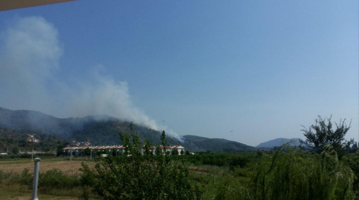 Dalaman da orman yangını çıktı #19
