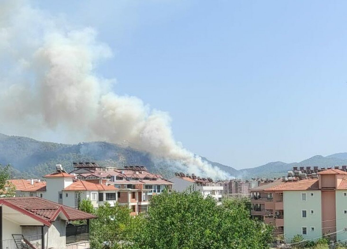 Dalaman da orman yangını çıktı #16