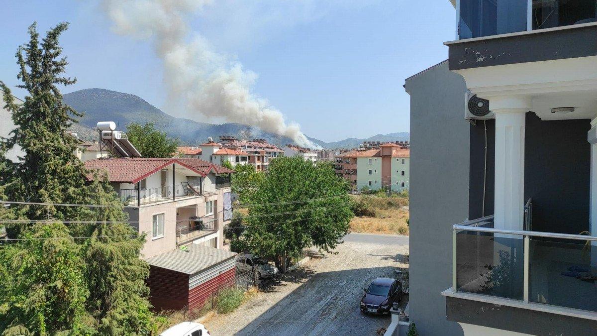 Dalaman da orman yangını çıktı #17
