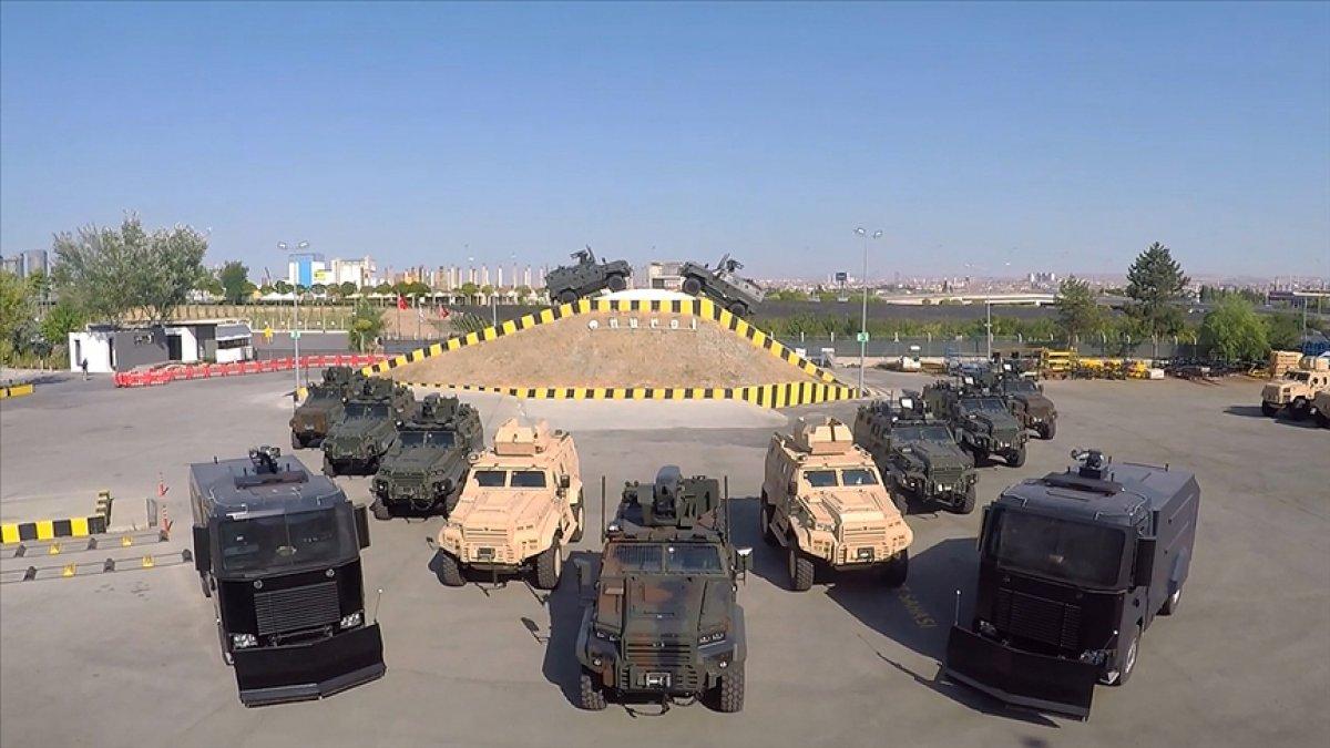 Savunma sanayisinde zırhlı araçlarla yeni ihracat kapıları açıyor #4