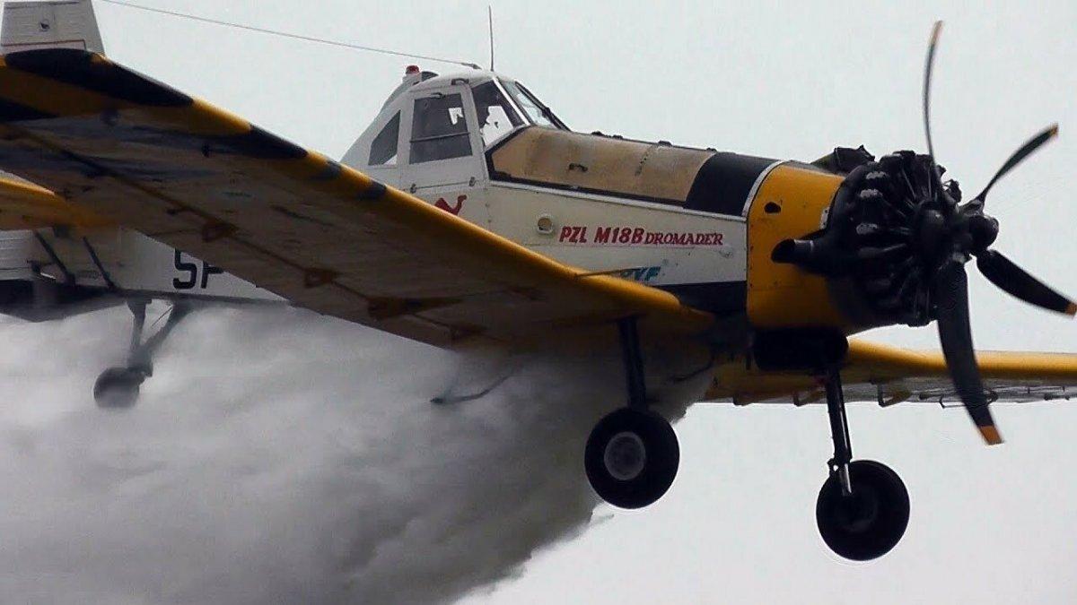 Yunanistan'da yangın söndürme uçağı düştü #1