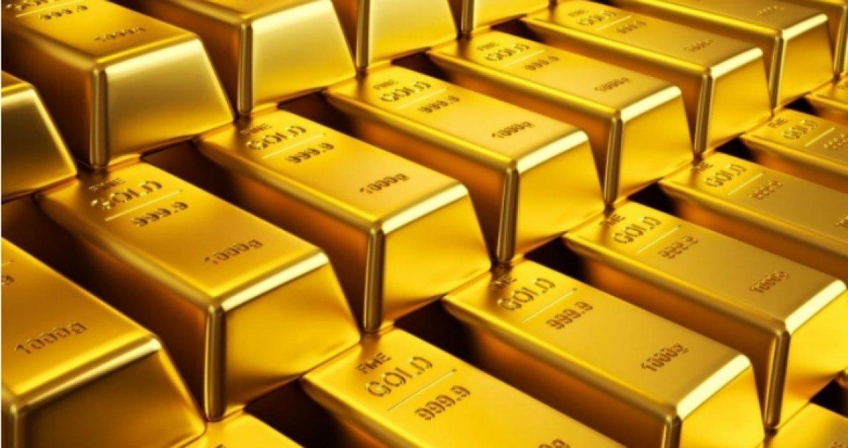 Dünyada altın fiyatları düştü #1