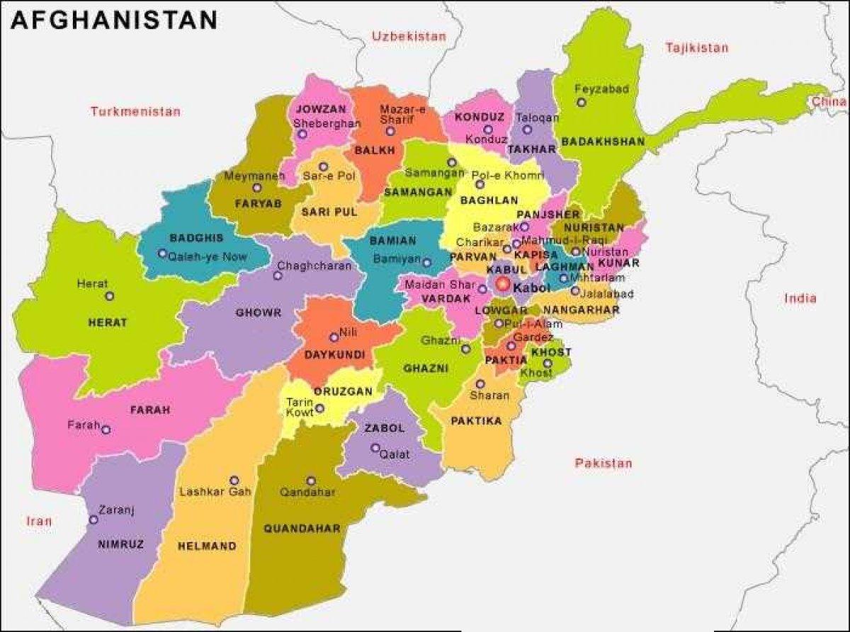 Taliban, 5 vilayeti kontrol altına aldı #4